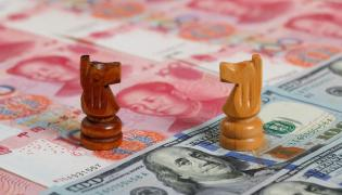 chiński juan kontra amerykański dolar