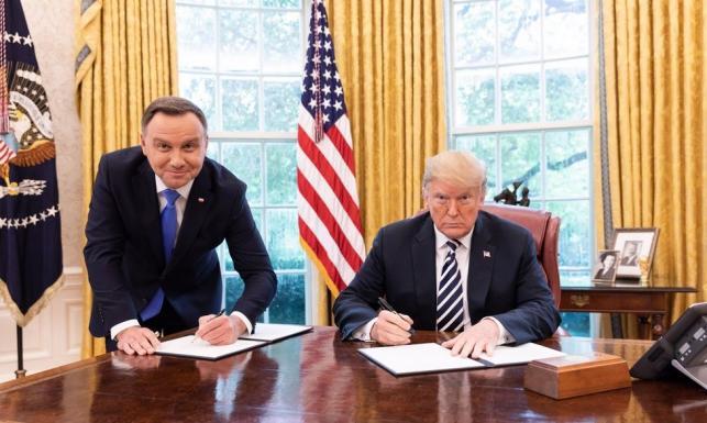 Spotkanie Andrzeja Dudy z Donaldem Trumpem. Biały Dom podał datę