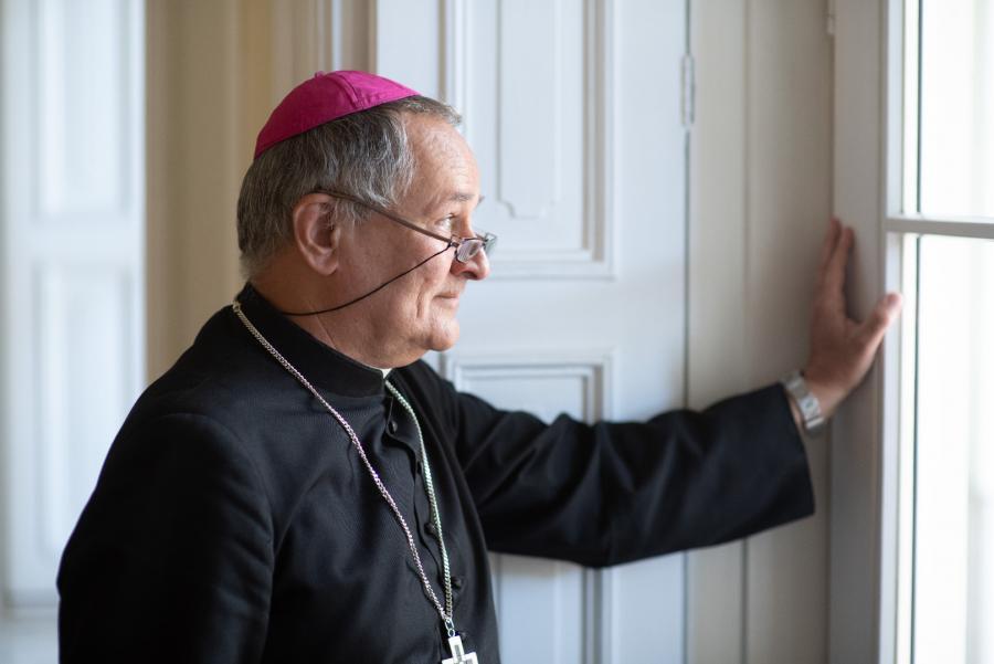 Biskup Michał Janocha, fot. Marcin Łobaczewski