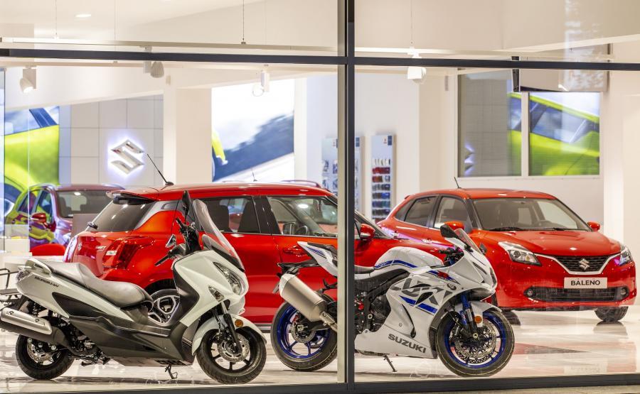 Kierowcy będą mieli również możliwość zapoznania się z ofertą jednośladów Suzuki, a oferta akcesoryjna będzie prezentowana w specjalnie zaprojektowanych gablotach
