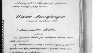 Konstytucja z 1935 r.