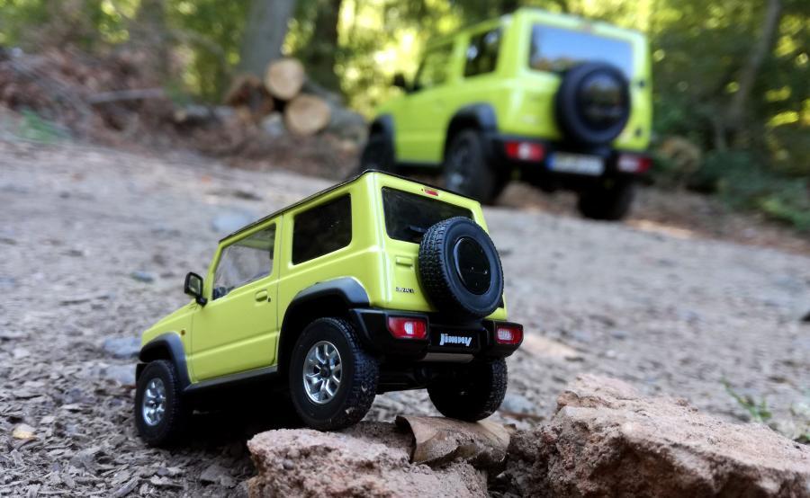 Suzuki Jimny – mała terenówka o dzielnym sercu ;)