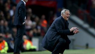 Jose Mourinho (na pierwszym planie)