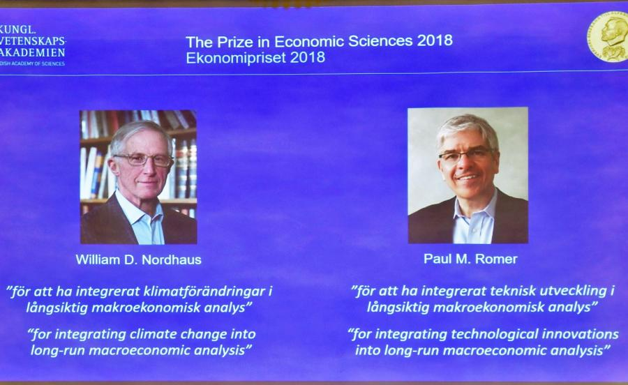 William D. Nordhaus i Paul M. Romer