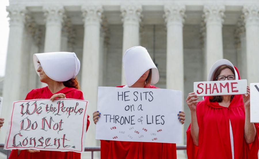 Protest przed Sądem Najwyższym
