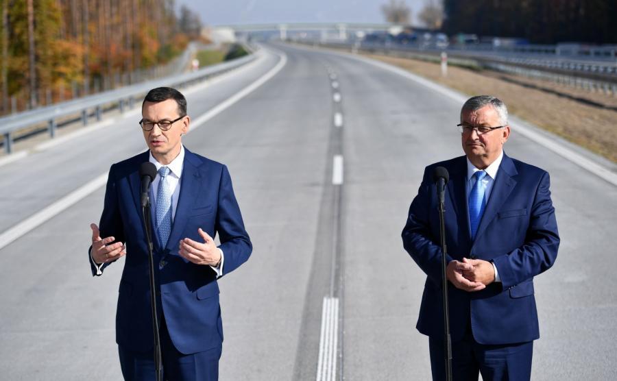 Mateusz Morawiecki i Andrzej Adamczyk