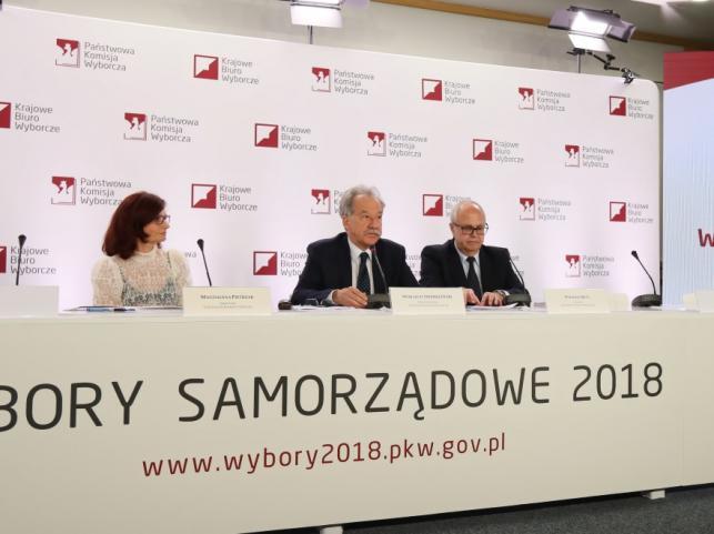 Magdalena Pietrzak i Wojciech Hermeliński oraz Wiesław Błuś