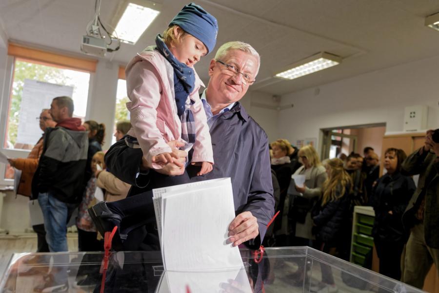 Wybory samorządowe 2018. Jacek Jaśkowiak
