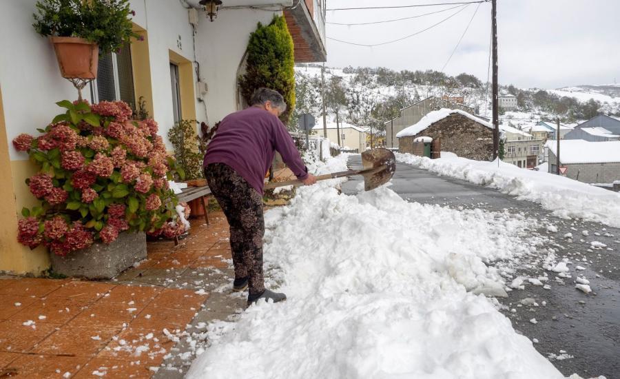 Śnieg w Hiszpanii