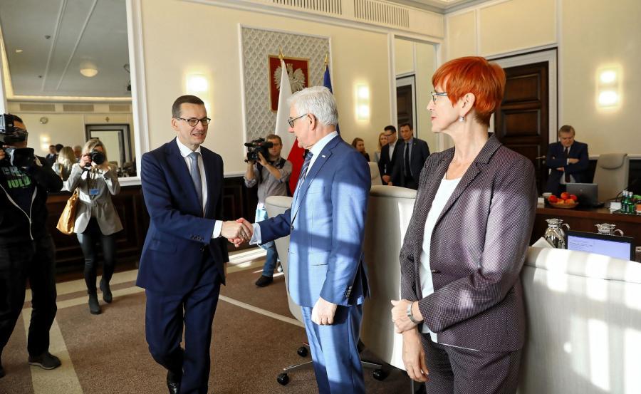 Mateusz Morawiecki, Elżbieta Rafalska, Jacek Czaputowicz