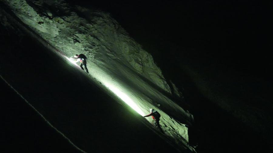 nocna wyprawa po dwóch turystów w rejon Wyzniego Czarnostawiańskiego Kotła / fot. Andrzej Mikler