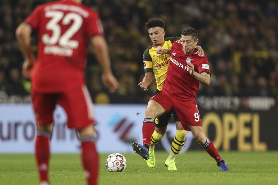 Jadon Sancho i Robert Lewandowski