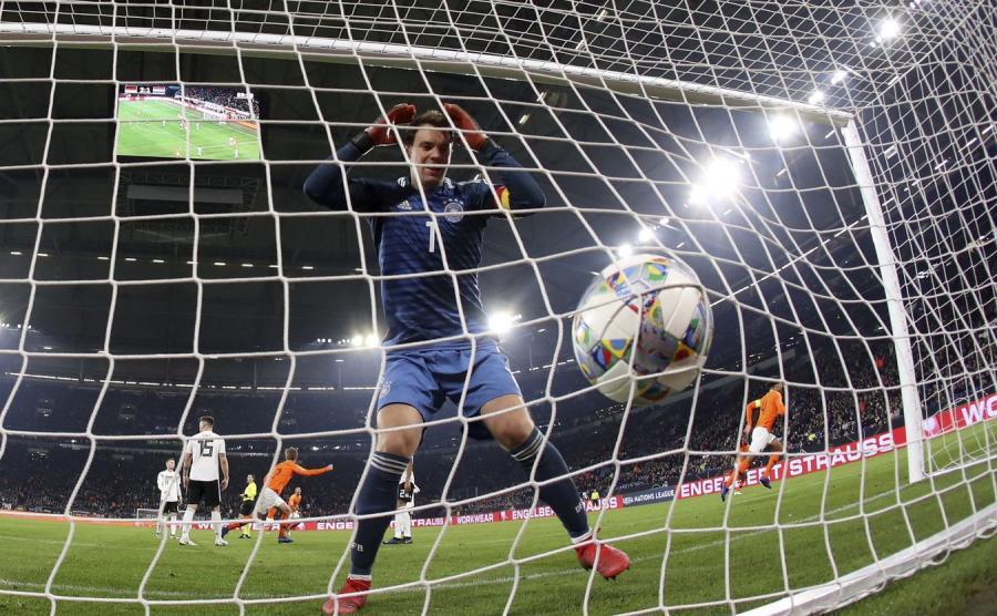 Mecz Niemcy - Holandia