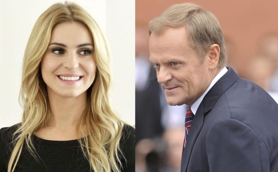 Katarzyna Tusk i Donald Tusk