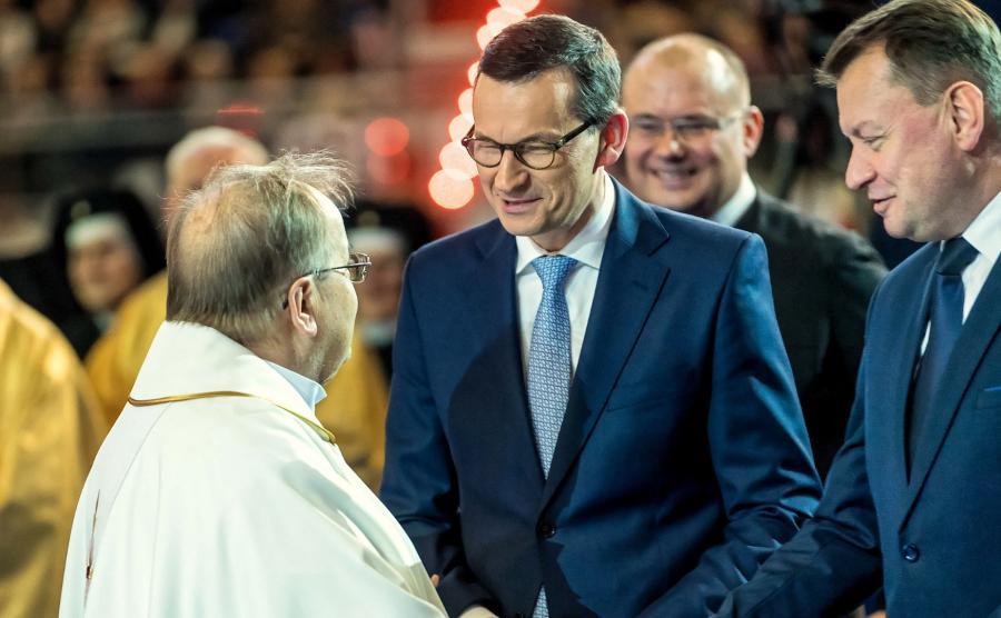 premier i ojciec Tadeusz Rydzyk