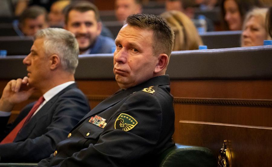 Rrahman Rama, dowódca Sił Bezpieczeństwa Kosowa