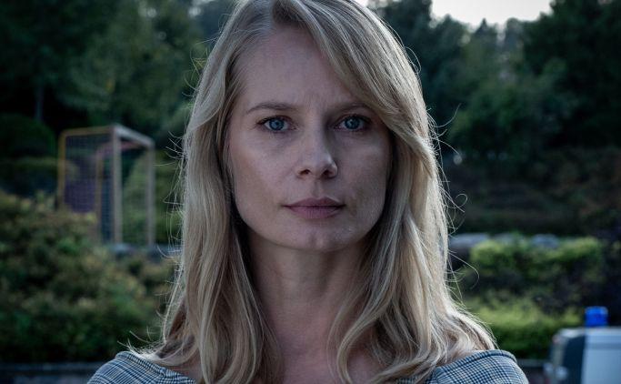 "Magdalena Cielecka w serialu ""Chyłka - Zaginięcie"""