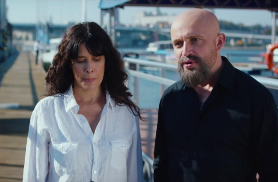 Angie Cepeda i Piotr Adamczyk w filmie \