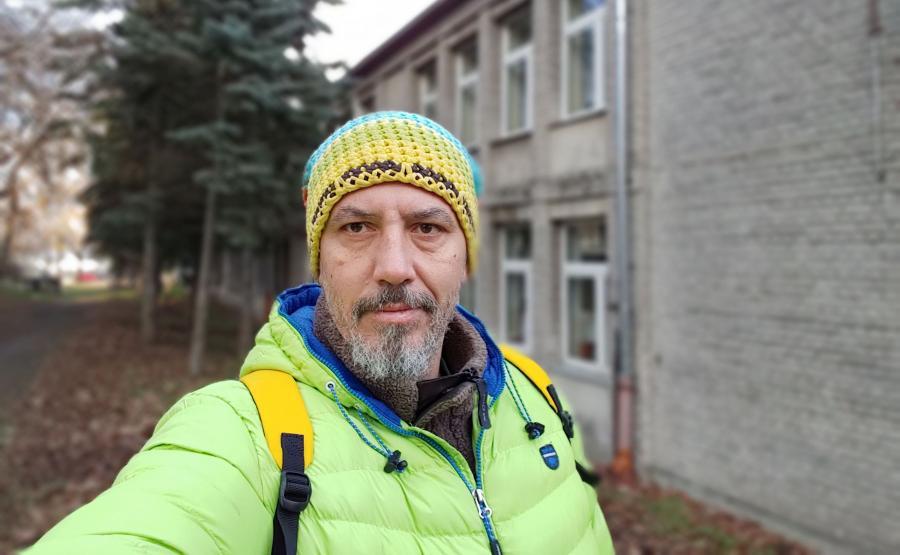 Zdjęcie wykonane smartfonem LG G7 Thinq - tryb portretowy selfie