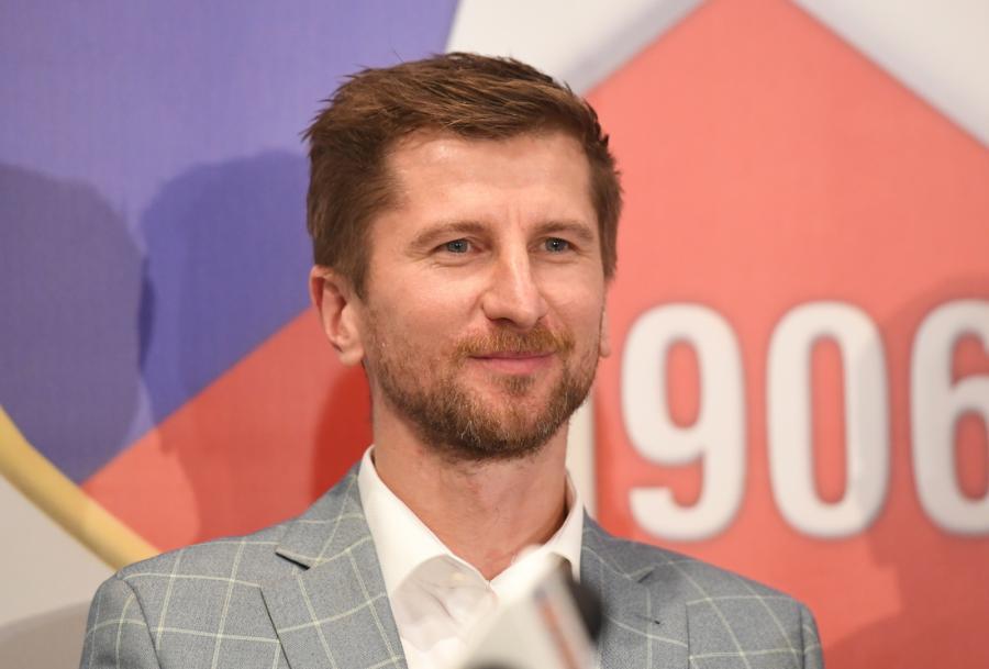 Nowy prezes Wisły Kraków SA i Towarzystwa Sportowego Wisła Kraków Rafał Wisłocki