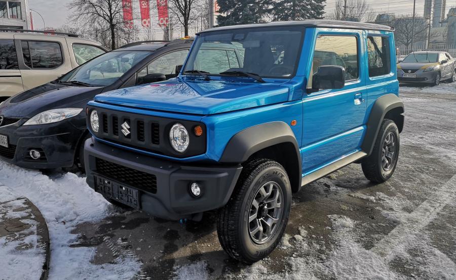 Suzuki Jimny już w Polsce