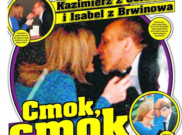 Upolowani: Marcinkiewicz całuje Isabel
