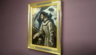 """Obraz """"Ekstaza św. Franciszka"""" autorstwa hiszpańskiego malarza El Greco"""