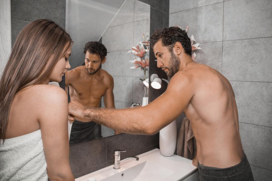 Para w łazience