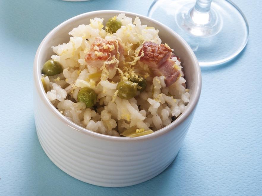 Ryż biały w stylu włoskim