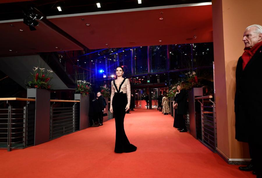 Juliette Binoche na czerwonym dywanie. Rusza 69. Festiwal Filmowy w Berlinie