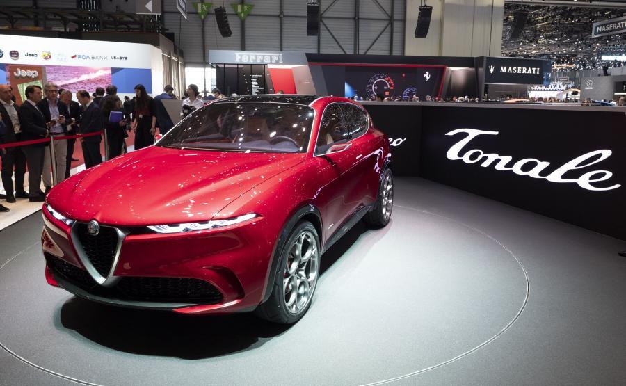 Alfa Romeo Tonale - imię pochodzi od nazwy przełęczy w Alpach
