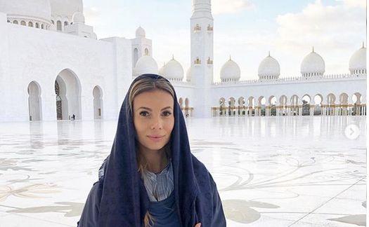 Izabela Janachowska w Dubaju