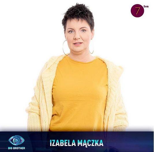 Big Brother - Izabela Mączka