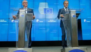 Jean Claude Juncker i Donald Tusk