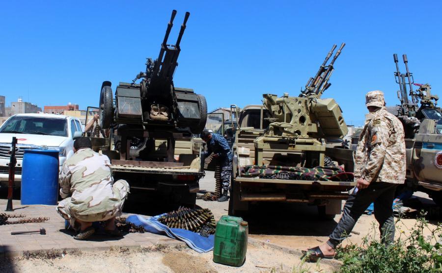 Libijskie milicje gotowe do walki