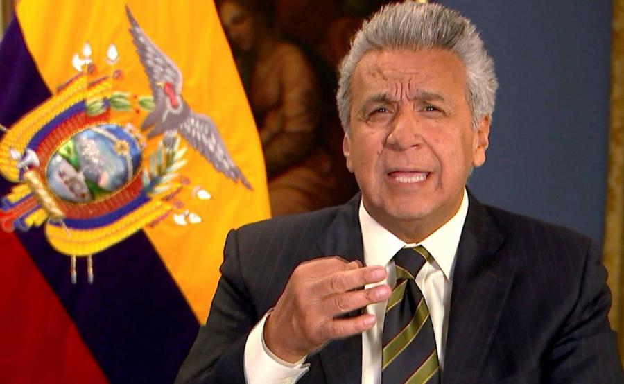 Prezydent Ekwadoru Lenin Moreno