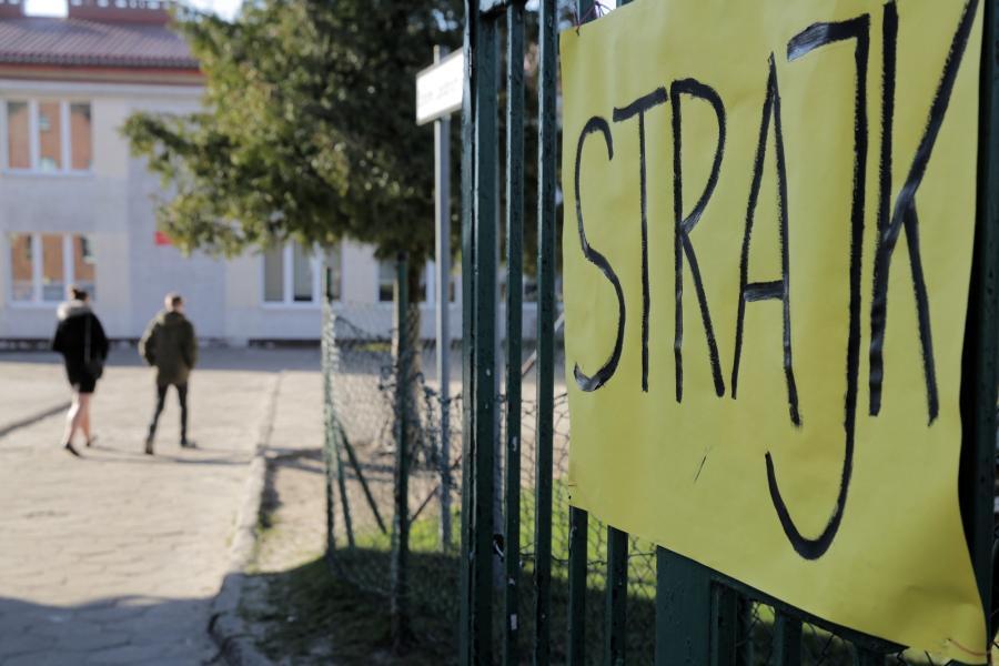 Strajk w Jonkowie