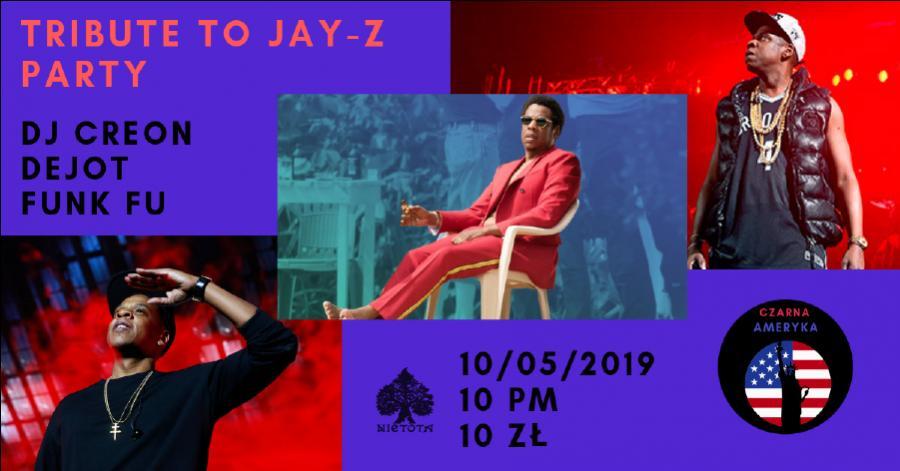 Czarna Ameryka: Tribute to Jay-Z Party