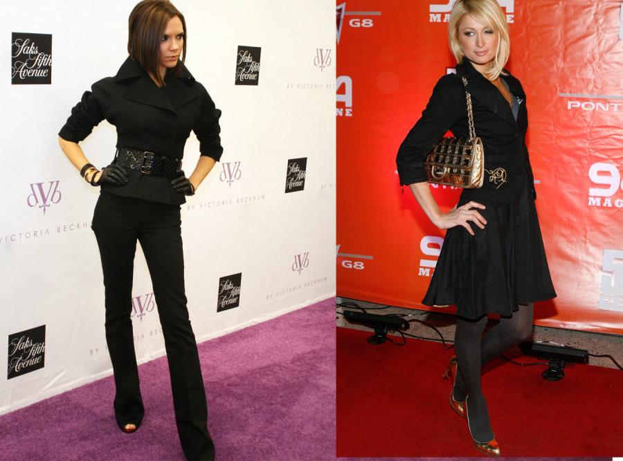 W co nas ubierze Victoria Beckham i Paris Hilton?