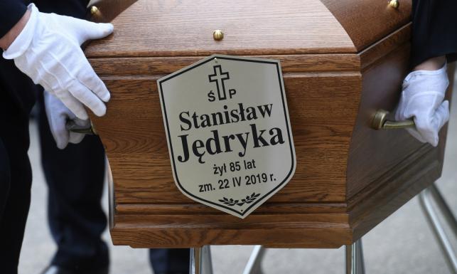 Pogrzeb Stanisława Jędyki