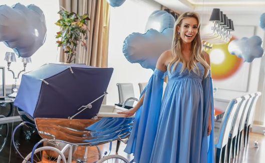 baby shower Izabeli Janachowskiej