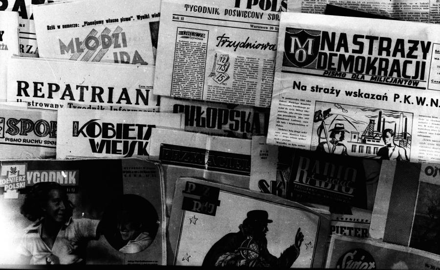 Gazety w PRL