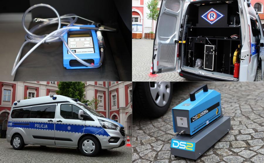 Nowy radiowóz specjalistyczny policji z Poznania