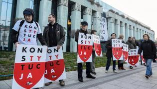 Protest w obronie sądów