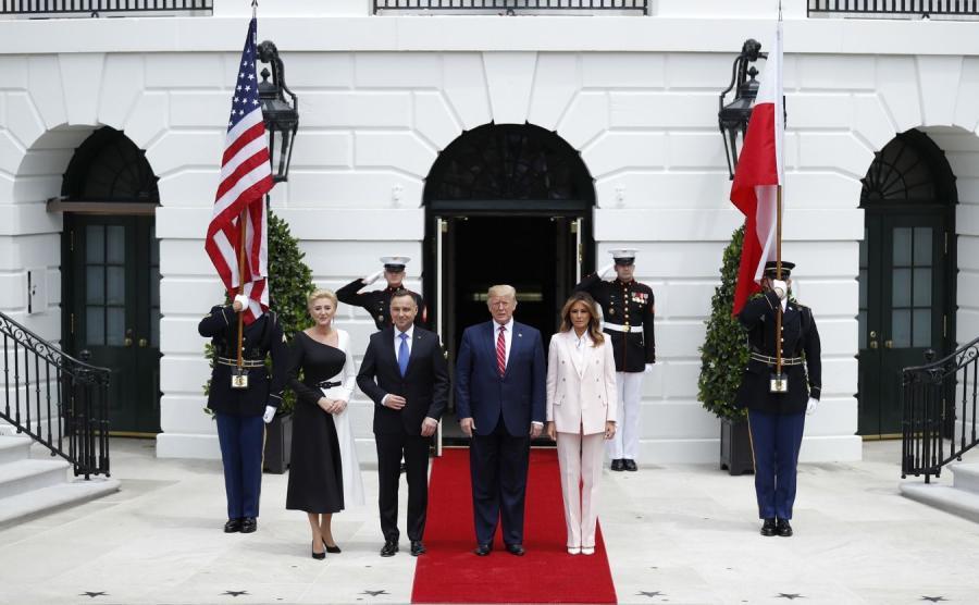 Para prezydncka w Białym Domu