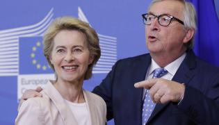 Ursula von der Leyen i Jean-Claude Juncker
