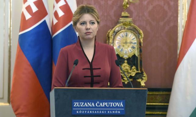 Czaputova zaprzecza, że jest agentkąSorosa i wzywa kraje V4 do przestrzegania praworządności