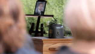 Pogrzeb Pawła Ż.