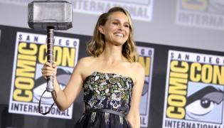 Natalie Portman na Comic Con w San Diego