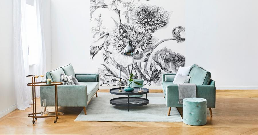 3. Sofa + dwa fotele to najwygodniejszy zestaw wypoczynkowy_zdjęcie aranżacyjne Westwing